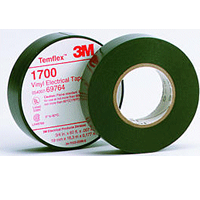 "1700-3/4X60FT 3M VINYL TAPE 3/4"" X 60' WHITE 3M# 0-00-54007-50655-3"