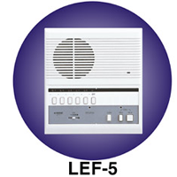 LEF-5 AIPHONE 5-CALL MASTER SURFACE MOUNT