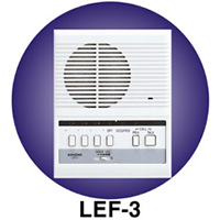 LEF-3 AIPHONE 3-CALL MASTER SURFACE MOUNT