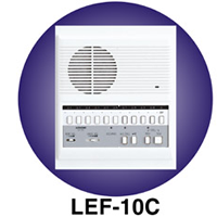 LEF-10C AIPHONE 10-CALL SEMI-FLUSH MOUNT MASTER
