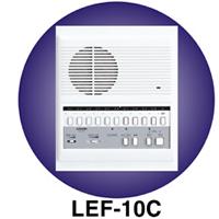 LEF-10C AIPHONE 10-CALL SEMI-FLUSH MOUNT MASTER