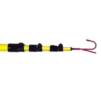 TPF620 BES FIBERGLASS TELESCOPING POLE ************************* SPECIAL ORDER ITEM NO RETURNS OR SUBJECT TO RESTOCK FEE *************************