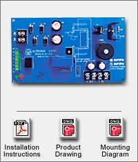 SMP3PM ALTRONIX SUPERVISED POWER SUPPLY 12/24VDC AT 2.5AMP ZERO VOLTAGE DROP ON BATTERY BACKUP (BOARD ONLY)