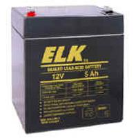 ELK1250 ELK LEAD ACID RECHARGEABLE 12V 5AH BATTERY