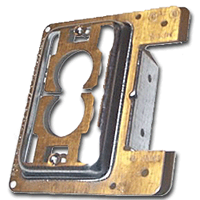 MP1S ERICO PLATE MOUNT BRACKET FOR NEW WORK