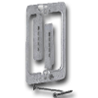 MPLS ERICO METAL SINGLE GANG MOUNTING RING FOR EXISTING CONSTRUCTION