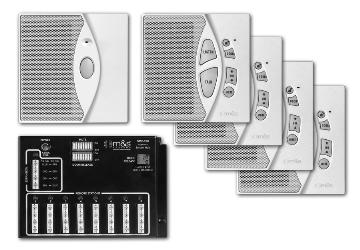 DMC-10KIT M&S STRUCTURED WIRE INTERCOM SYSTEM KIT - INCLUDES: DMC10H / (4)DMC10RS / DMC10DS ************************* SPECIAL ORDER ITEM NO RETURNS OR SUBJECT TO RESTOCK FEE *************************