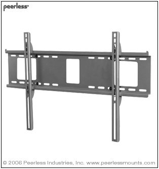 "SF660 PEERLESS FLAT WALL MOUNT FOR MEDIUM TO LARGE 39""-80"" LCD AND PLASMA"