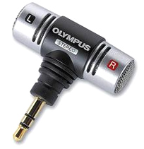 OLY-145037 ME-51S STEREO MICROPHONE FOR USE WITH THE DM10,DM20,DS2200 AND WS200 VOICE RECORDERS