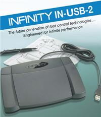 VEC-INUSB2 VEC DIGITAL FOOT CONTROL W/ USB COMPUTER PLUG