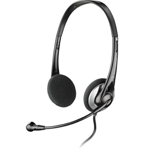 PLN-80933-01 PLANTRONICS AUDIO326 STEREO HEADSET WITH NC MICROPHONE