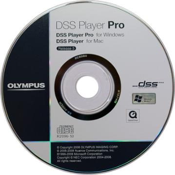 OLY-147486 OLYMPUS AS49-E1 DDS PLAYER STANDARD SOFTWARE DICTATION MODULE