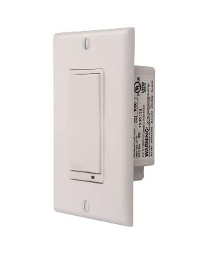 WD500Z-1 LINEAR Z-WAVE WALL DIMMER SWITCH - 500 WATT MAX