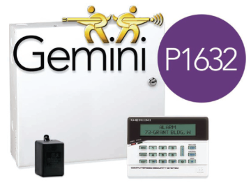 GEMP1632INTROPK NAPCO GEM1632 16/32 ZONE PACKAGE W/ RP1CAE2 KEYPAD