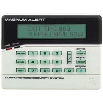 RP3000LCDE NAPCO DUAL LINE KEYPAD WITH 4 ZONES BUILT IN
