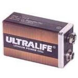 60-713 UTC 9VDC ULTRALIFE LITHIUM BATTERY