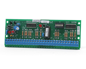 NX-216E UTC 16-ZONE EXPANDER MODULE, NX-8E MICROPROCESSOR CONTROLLED 8-16-ZONE HARDWIRE EXPANDER MODULE FOR THE NX-8E. MAXIMUM-ZONE COUNT OF 192. CAN BE MOUNTED UP TO 2500' FROM THE CONTROL PANEL