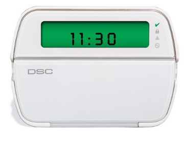 DSCPK5501ENG DSC 64 ZONE PICTURE ICON LCD KEYPAD WITH ENGLISH FUNCTION KEY FOR DSC POWERSERIES CONTROL PANELS