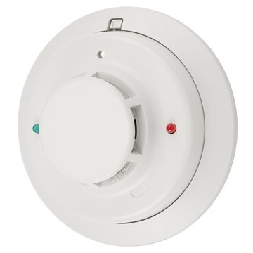 2W-B SYSTEM SENSOR 2-WIRE PHOTO SMOKE DETECTOR 12/24 VDC WITH BASE