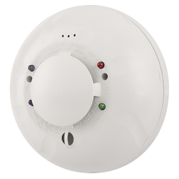 COSMO-4W SYSTEM SENSOR 4-wire, 12/24 volt, system-connected, combination CO/smoke detector with RealTest technology