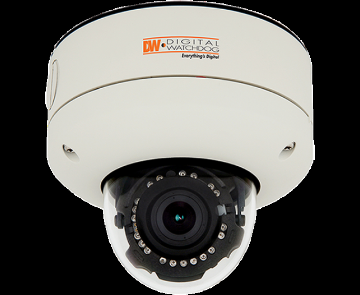 "DWC-V4567WTIR DIGITAL WATCHDOG Snapit Vandal Dome, 960H Infinity Series, 1/3"" Sharp CCD, High Res 650 Lines Color / 700 Lines Black and White, 3.3~12mm Varifocal Auto Iris Lens, True Day and Night, 70ft Range IR with Intelligent Camera Sync, Star-Light (Super Low Light Technology), EWDR (Electronic Wide Dynamic Range), 3D-DNR (3D Digital Noise Reduction), HME, AGC, BLC, AWB, UTP Built-in, RS485 Built-in, Junction Box Built-in, 6 Programmable Privacy Zone, Motion Detection, Easy Icon Driven OSD Menu with Built-in Joystick, Dual Voltage, Secondary Video-BNC Output, IP68 Certified, ************************** CLEARANCE ITEM- NO RETURNS *****ALL SALES FINAL******* **************************"