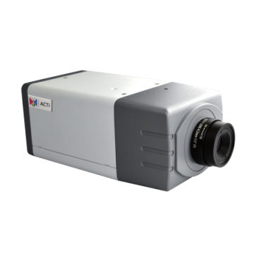 E21FA ACTi 1MP Box with D/N, Basic WDR, Fixed lens, f4.2mm/F1.8, H.264, 720p/30fps, DNR, Audio, MicroSDHC/MicroSDXC, PoE, DI/DO ************************* SPECIAL ORDER ITEM NO RETURNS OR SUBJECT TO RESTOCK FEE *************************