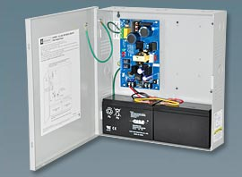 AL400ULX ALTRONIX UL LISTED FIRE, BURG, ACCESS CONTROL POWER SUPPLY IN LARGE ENCLOSURE 12/24VDC