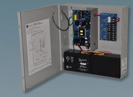 "AL600ULPD8 ALTRONIX 8 Output Power Supply/Charger - 12VDC or 24VDC @ 6 amp, fused non power-limited outputs, AC & battery monitoring, encl. 13.5""H x 13""W x 3.25""D, 115VAC input, UL Listed (UL294/UL1481), cUL Listed."" ************************* SPECIAL ORDER ITEM NO RETURNS OR SUBJECT TO RESTOCK FEE *************************"