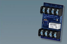 """RBSN ALTRONIX RELAY MODULE 12/24VDC 1000 OHM COIL, 2AMP/120VAC DPDT FORM """"C"""" CONTACTS"""