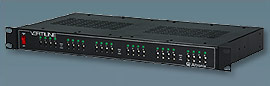 """VERTILINE24C ALTRONIX 24 OUTPUT RACK MOUNT CCTV POWER SUPPLY - 10 AMP TOTAL CURRENT, INDIVIDUALLY SELECTABLE 24VAC OR 28VAC FUSED OUTPUTS, 1U EIA 19"""" RACK MOUNT CHASSIS, 115VAC INPUT, UL LISTED (UL2044), CUL LISTED ************************* SPECIAL ORDER ITEM NO RETURNS OR SUBJECT TO RESTOCK FEE *************************"""
