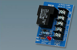 "RB30 ALTRONIX RELAY MODULE 12/24VDC OPERATION 30 AMP/240VAC FORM ""C"" CONTACTS"