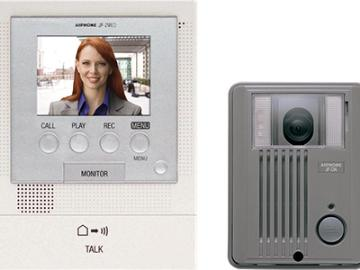JFS-2AED AIPHONE HANDS FREE 2X3 COLOR VIDEO STANDARD SET (JF-2MED, JF-DA, PS-1820UL)