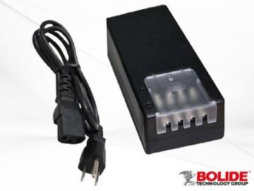 BP0004-5-PTC BOLIDE 4 PTC FUSED OUTPUT 12VDC 5AMP POWER SUPPLY