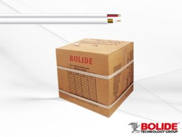 BP0033/CW1000 BOLIDE RG59+18/2 SIMAESE CABLE UL WHITE 1000'