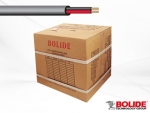 BP0033/CB1000 BOLIDE RG59+18/2 SIMAESE CABLE UL BLACK 1000'