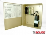 BP0050/9-5 BOLIDE 12VDC REGULATED POWER SUPPLY, 9 OUTPUT, 5 AMP