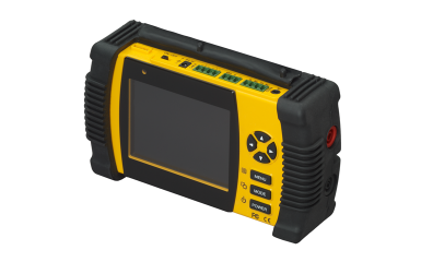 "ZM-L35T GANZ CBC 3.5""MONITOR WITH MULTIMETER, WITH SIX ESSENTIAL CCTV FUNCTIONS, PELCO P&D PROTOCOL FOR PTZ TESTING, BUILT-IN SPEAKER FOR AUDIO TESTING. ************************** CLEARANCE ITEM- NO RETURNS *****ALL SALES FINAL******* **************************"