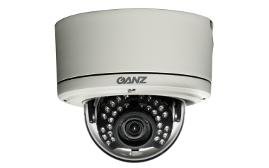 ZC-DNT8312NBA-IR GANZ 600TVL TRUE D/N OUTDOOR IR VANDAL DOME IP67, 100' IR, 3.3-12MM A/I LENS DUAL VOLTAGE, 3-AXIS ************************** CLEARANCE ITEM- NO RETURNS *****ALL SALES FINAL******* **************************