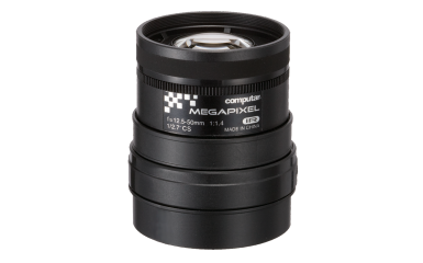 A4Z1214CS-MPIR CBC 12.5-50MM MEGAPIXEL LENS MANUAL IRIS ************************* SPECIAL ORDER ITEM NO RETURNS OR SUBJECT TO RESTOCK FEE *************************