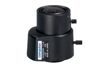 "TG3Z2910FCS CBC 1/3"" 2.9-8.2MM F1.0 A/I DC TYPE AUTO IRIS VARIFOCAL LENS ************************* SPECIAL ORDER ITEM NO RETURNS OR SUBJECT TO RESTOCK FEE *************************"