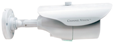 6332-W CHANNELVISION VARIFOCAL IR BULLET CAMERA, 650TLV, 4-9mm LENS, 12VDC, 45FT IR DIST., IP66 RATED, WHITE ************************* SPECIAL ORDER ITEM NO RETURNS OR SUBJECT TO RESTOCK FEE *************************