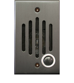 IU-0252 CHANNELVISION IU SERIES DOOR STATION IN OIL RUBBED BRONZE ************************* SPECIAL ORDER ITEM NO RETURNS OR SUBJECT TO RESTOCK FEE *************************