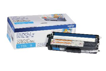 BRT-TN310C BROTHER CYAN TONER CARTRIDGE FOR MFC9460CDN / MFC9560CDW / MFC9970CDW / HL4150CDN / HL4570CDW / HL4 570CDWT