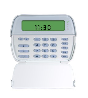 DSCRFK5501ENG DSC 64 ZONE PICTURE ICON LCD KEYPAD WITH ENGLISH FUNCTION KEYS AND BUILT-IN 433MHZ WIRELESS RECEIVER