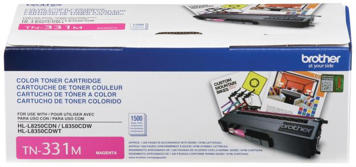 BRT-TN331M BROTHER MAGENTA TONER CARTRIDGE FOR HLL8250CDN,HLL8350CDW ,HLL8350CDWT