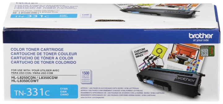 BRT-TN331C BROTHER CYAN TONER CAR TRIDGE FOR HLL8250CDN,HLL8350CDW, HLL8350CDWT