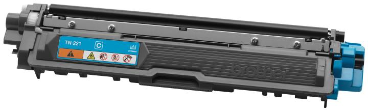 BRT-TN221C BROTHER CYAN TONER CARTRIDGE FOR HL3140CW,HL3170CDW, NMFC9130CW, MFC9330CDW