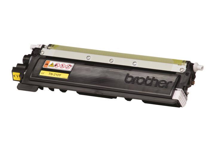 BRT-TN210Y BROTHER YELLOW TONER CARTRIDGE FOR MFC9320CW,MFC9010CN, MFC9120CN, 1400 PG YIELD