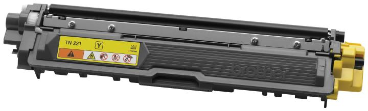 BRT-TN221Y BROTHER YELLOW TONER CARTRIDGE FOR HL3140CW,HL3170CDW, MFC9130CW, MFC9330CDW, 1400 PAGE YLD