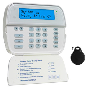 DSCWT5500P DSC 2 WAY WIRELESS WIRE-FREE KEYPAD WITH 2X16 FULL ALPHA DISPLAY EQUIPPED WITH PROXIMITY READER AND ONE PT4 PROX TAG ************************* SPECIAL ORDER ITEM NO RETURNS OR SUBJECT TO RESTOCK FEE *************************
